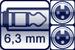Cable jack 3p. 6,3 mm<br>2x XLR female