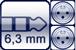 Plug 3p. 6,3 mm<br>2x XLR male