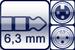 Plug 3p. 6,3 mm<br>XLR 3p. female/male