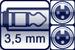 Cable jack 3p. 3,5 mm<br>2x XLR female