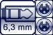 Klinkenbuchse 3p.<br>2x XLR 3p. female