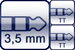 Plug 3p. 3,5 mm<br>2x TT-Phone